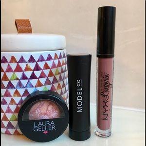 NYX, ModelCo, Laura Geller Makeup Bundle